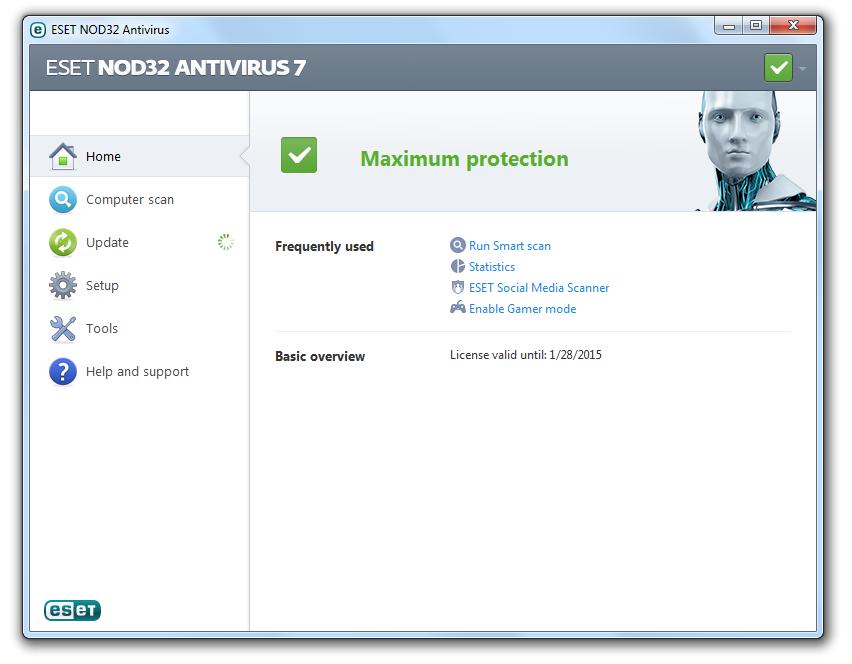 راهنمای نصب آنتی ویروس ESET NOD32 Antivirus