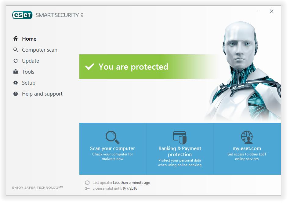 مرحله 9 نصب و راه اندازی آنتی ویروس ESET Smart Security