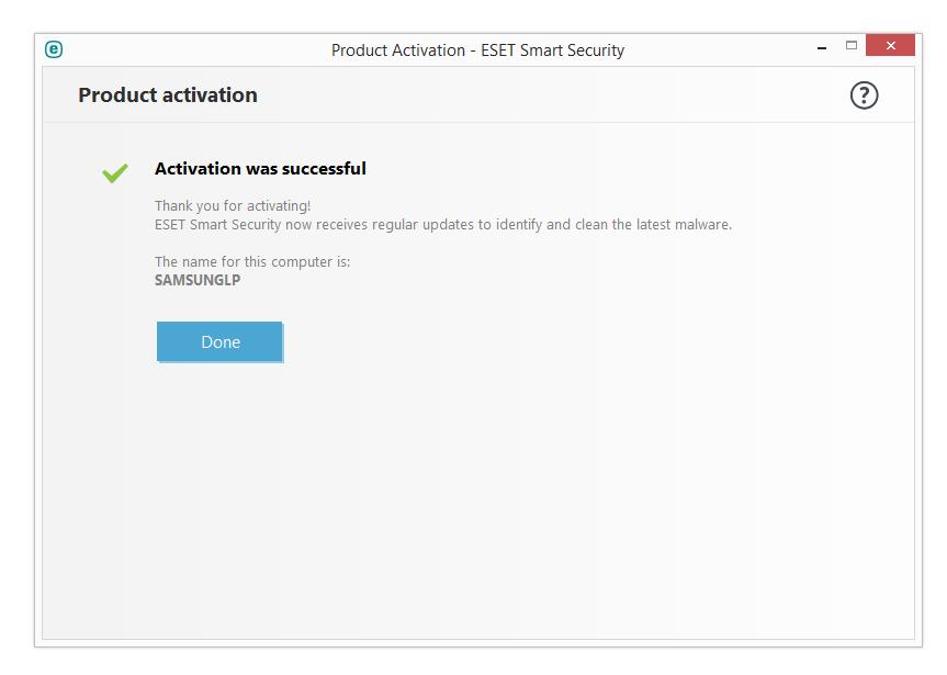 مرحله هشتم نصب و راه اندازی آنتی ویروس ESET Smart Security
